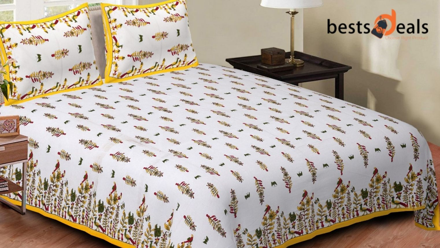 Picture of: Design Your Bedroom With Beautiful Bedsheets Bestsdeals In